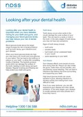 Looking after your dental health (NFS1613)
