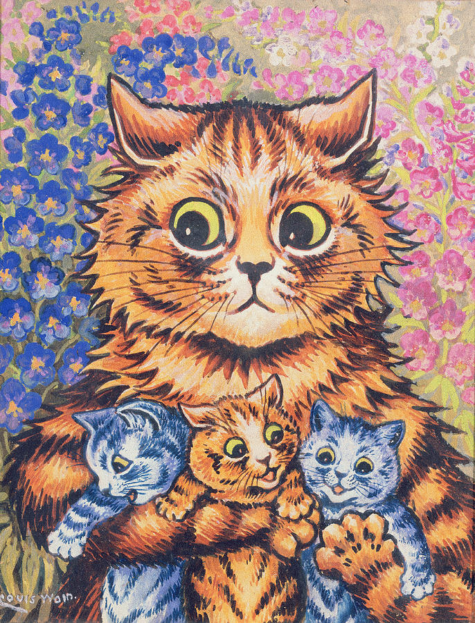 Louis Wain The King Of Cat Art