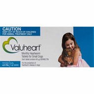 Valuheart Blue Dogs under 22 lbs (10 kg) - 12 Chewables