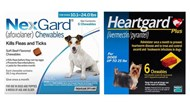 NexGard & Heartgard Combo Dogs 10-24 lbs (4-10 kg) - 6 pack