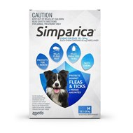 Simparica for Dogs 22.1-44 lbs (10-20 kg) - 3 Pack