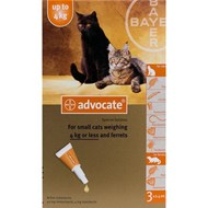 Advocate Cats Under 8.8lbs (4kg) - 1 Pack