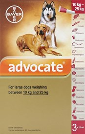 Advantage Multi (Advocate) Dogs 22-55lbs (10-24kg) - 3 Pack