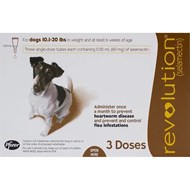 Revolution Brown Dogs 10-20lbs (5-10kg) - 1 Pack