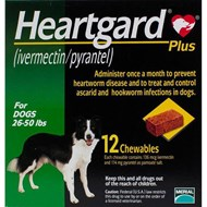 Heartgard Chewables Plus Green Dogs 26-50lbs (12-22kg) - 1 Chewable