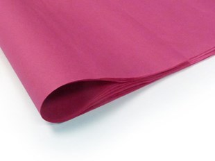 Recycled Cerise Pink Tissue Paper - 240 sheets (S) (TPCP03)