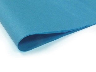 Recycled Turquoise Tissue Paper - 240 sheets  (L) (TPT02)