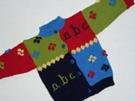 abc cardigan Navy