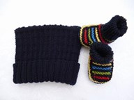 Gift Beanie and Bootee Set Boys