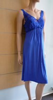 Essence Viscose Strappy Nightie in Sapphire Blue 869NG