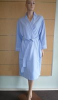 Dilly Lane Cotton Blend Fleece Wrap Dressing Gown - Short Length