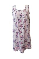 Dilly Lane Vintage Rose Cotton Nightie DLS1212