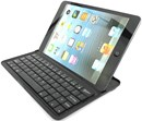 Mini Wireless Keyboard made for iPhones and iPad Mini with device stand - Black