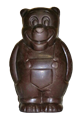 Chocolate Bear - large