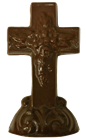 Chocolate Small Standing Cross