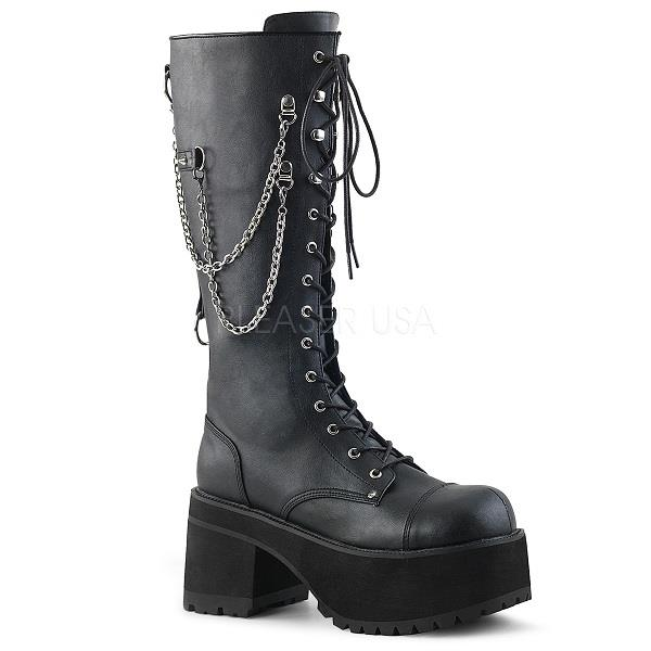 3234b97fa18 Demonia Ranger 303 Goth Boots Pleaser High Heel Shoe Shop Weddings Formals  Pole Dancers Transgender Stage