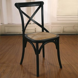Dining Chair - Antique Black 'Charmont'