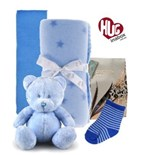Baby Boy Bear Hamper Hugs