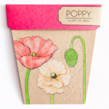 Poppy Gift of Seeds Hug - Gift Card