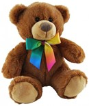 Cleo Rainbow (Brown) Bear 20cm