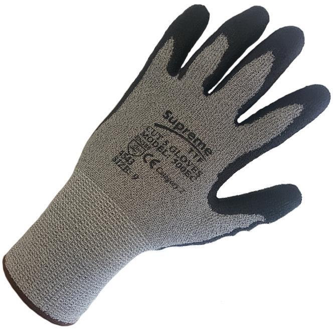 UCI X5 Sumo FC Gloves Latex Coated Cut Resistant Kevlar Steel Nylon PPE Wear 9//Large
