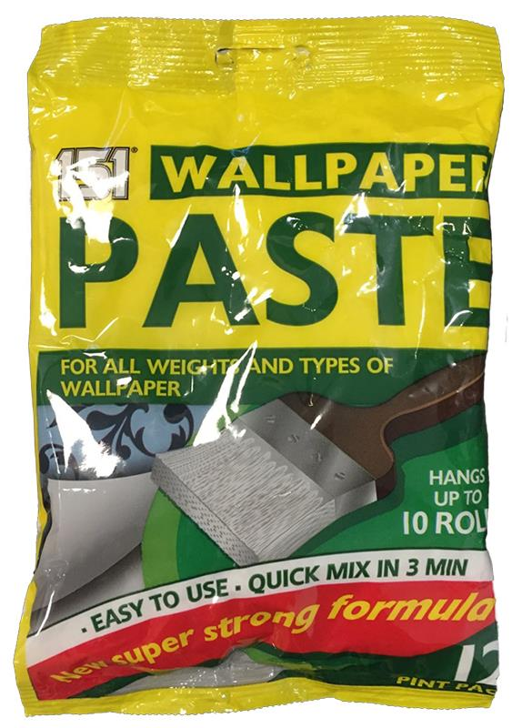 Wallpaper Paste For All Weights and Types of  Wallpaper Hangs up to 10 Rolls-151