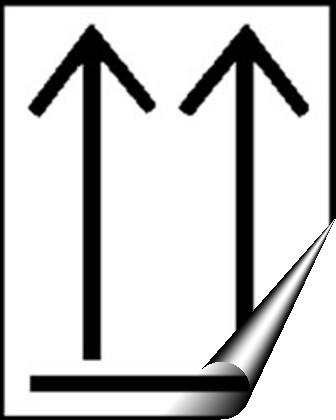 Hazchem Transport Labels This Way Up Symbol Conforms To