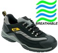 SB - SRA HRO - Caterpillar Moor Safety Trainer - Conforms to EN ISO 20345:2007 SB SRA HRO 200 Joules Steel Toe Cap - (Pair) - WO-705039