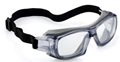 K&N Rated 5X9E UNIVET Anti-Scratch & Anti-Fog Coatings, Hybrid Spoggle Protective Eyewear - [UV-5X9E.03.00.00]
