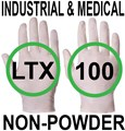 Supertouch - Natural Industrial And Medical Powderfree Latex Gloves - FOOD SAFE 2002/72/EC - Conforms to EN455 1-4 - Box of 50 Pairs - ST-10201
