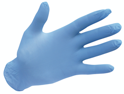 Portwest Powder Free Nitrile Disposable Gloves Safety Pack of 100 Workwear A925