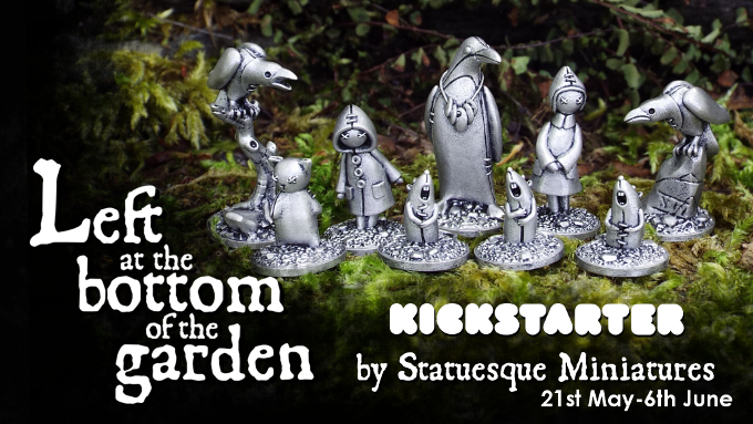 Left at the Bottom of the Garden Kickstarter launches on Tuesday!