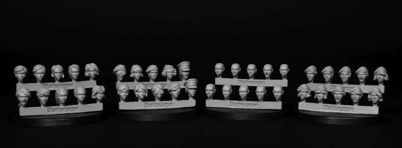 A note on SMA012 Heroic Scale Female Heads *Back in stock*