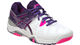 Asics Gel-Resolution 6 Ladies Tennis Shoes white purple pink E550Y-0133, Sale $99.95