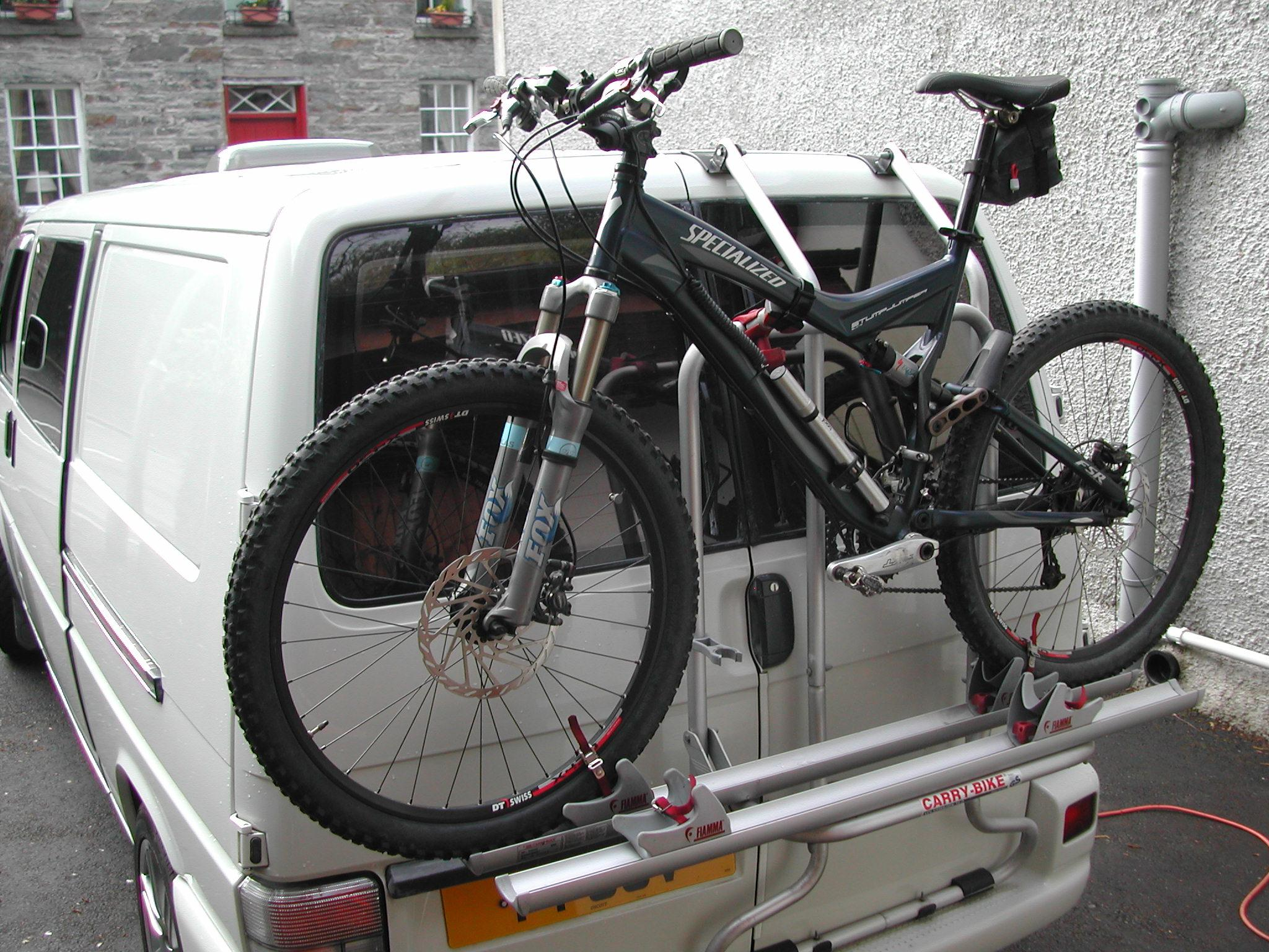Fiamma Carry Bike Rack For Vw T4d Everything Fiamma