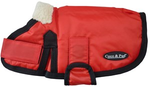 Waterproof Dog Coat 3008 - Red (Small to Medium dogs)