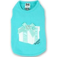Sniffany & Co T-shirt - Blue with white gift box