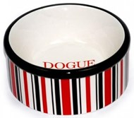 DOGUE Striped Pet Bowl (RED)