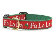 Fa La la Christmas Dog Collar