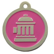 Fire Hydrant ID Tags (Pink)