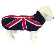 Union Jack Dog Sweater