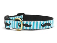 Moustache Dog Collar