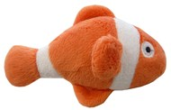 Clown Fish Catnip Toy (Orange/White)