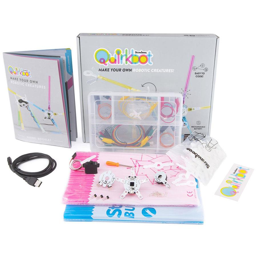 Design Your Own Kit Home Australia: Strawbees Quirkbot Coding & Robotic Kit