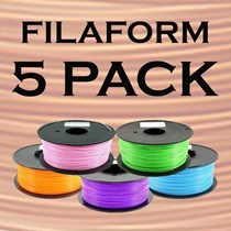 Filament 1.75mm PLA - Filaform 5 pack