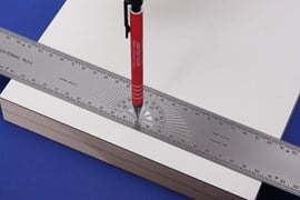300mm Centering Rule 1.0mm