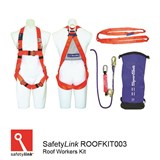Roof Workers Kit Spanset Standard Roofers Kit with Heavy Duty Bag