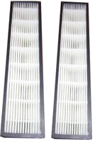 Pair of Atlas Dual HEPA Air Purifier Replacement Hepa Filters Pair