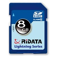 RiDATA Lightning Series 8GB Secure Digital High-Cap Flash Memory