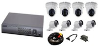 CCTV 16CH KIT w 8 Cameras Accessories